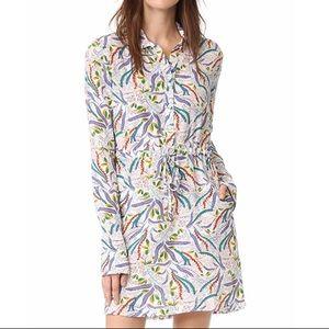 SALONI Dresses - Saloni Size 2 Leigh B Silk Dress NWOT Drawstring